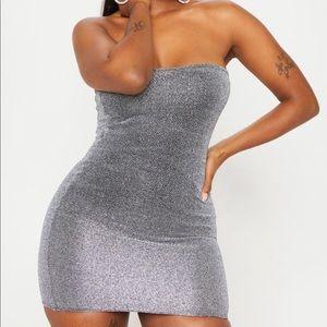 PrettyLittleThing Grey Dress